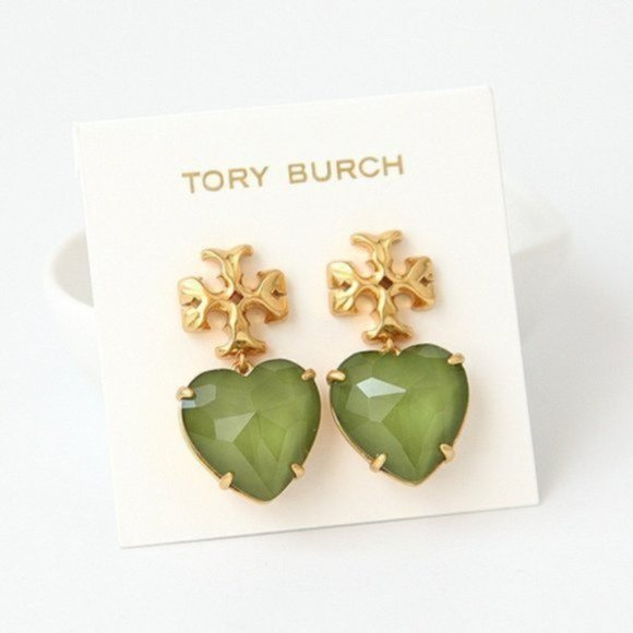 Tory Burch Roxanne Heart Earrings
